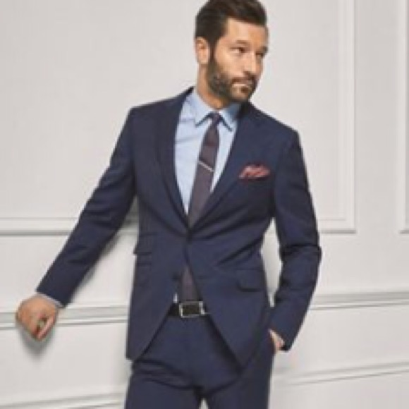 5cecb9521b00 Massimo Dutti Suits & Blazers | Personal Tailoring Wool Navy Blazer ...